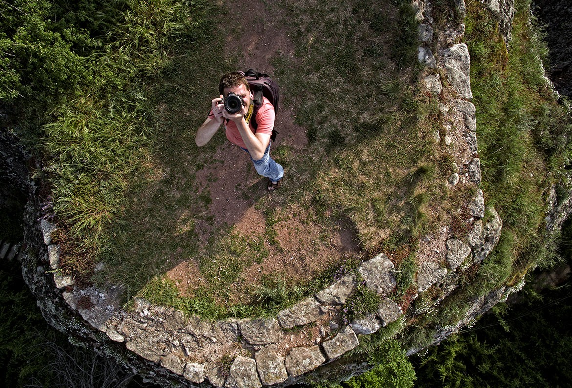 photographer from drone