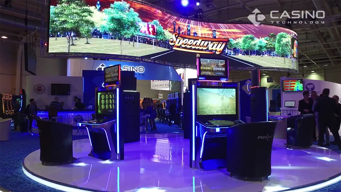 Casino Technology Stand BEGE Expo
