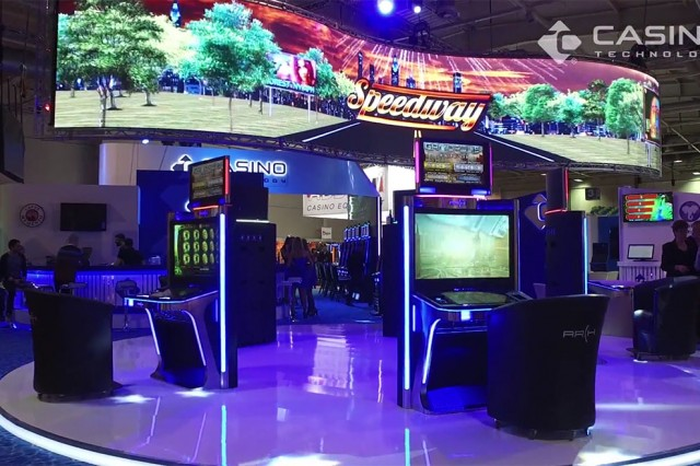 Casino Technology Stand on BEGE Expo
