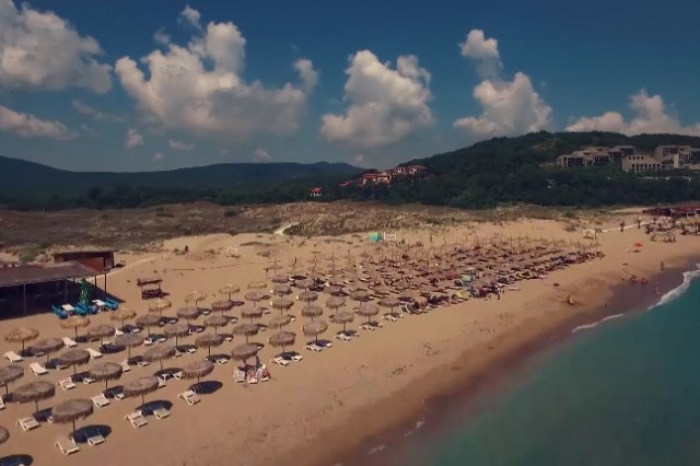 Aerial footages for a commercial of Arkutino Resort