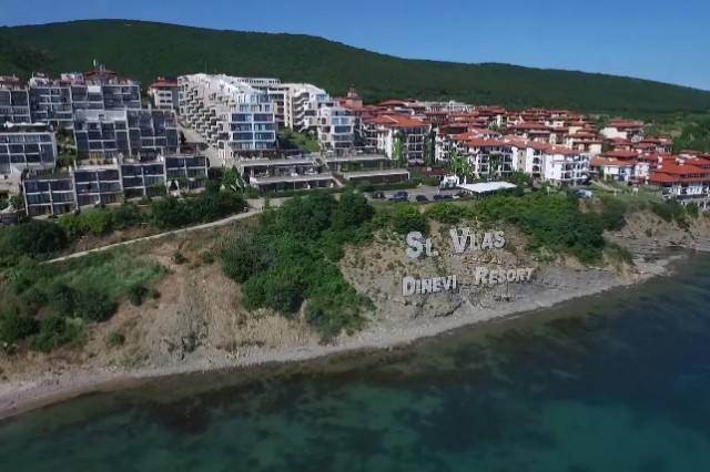 Aerial video shooting for Dinevi resort commercial