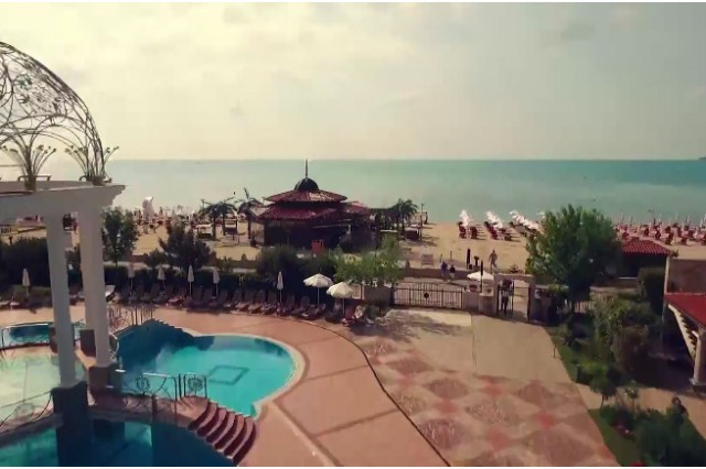 Aerial video shooting for aHelena Sands hotel commercial