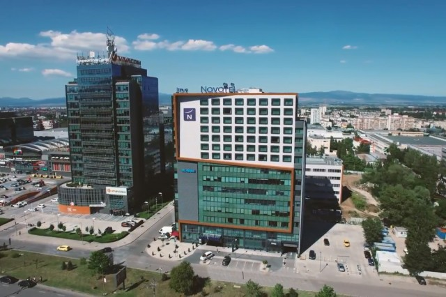 Video Commercial of  Novotel Sofia